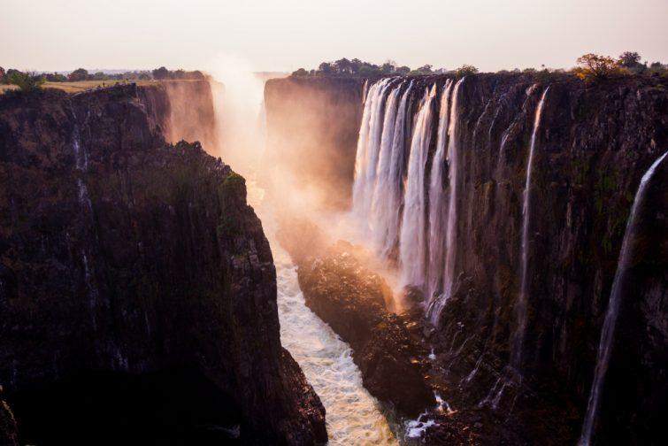 Billet pour une excursion aux chutes Victoria, Zambie