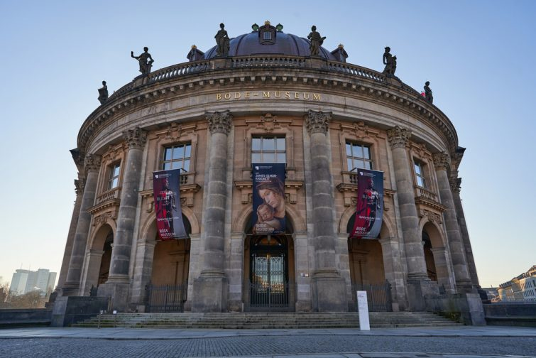 Façade et entrée du musée Bode, Berlin