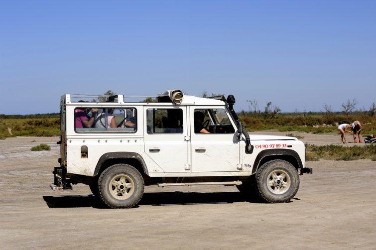 Faire un safari 4x4 en Camargue