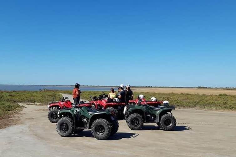 Faire du quad en Camargue