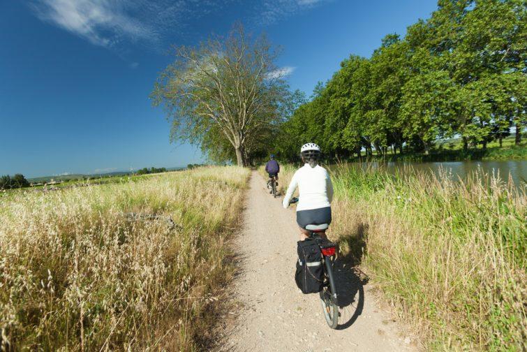 Longer le Canal du Midi en vélo