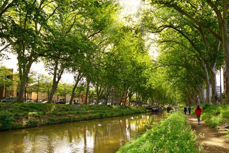 Visiter le Canal du Midi à pied