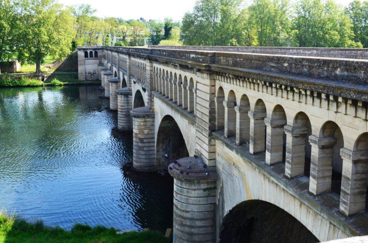 Pont-canal de l'Orb, Béziers