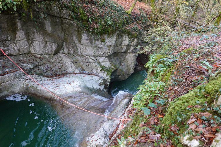Canyon de Ternèze près d'Annecy