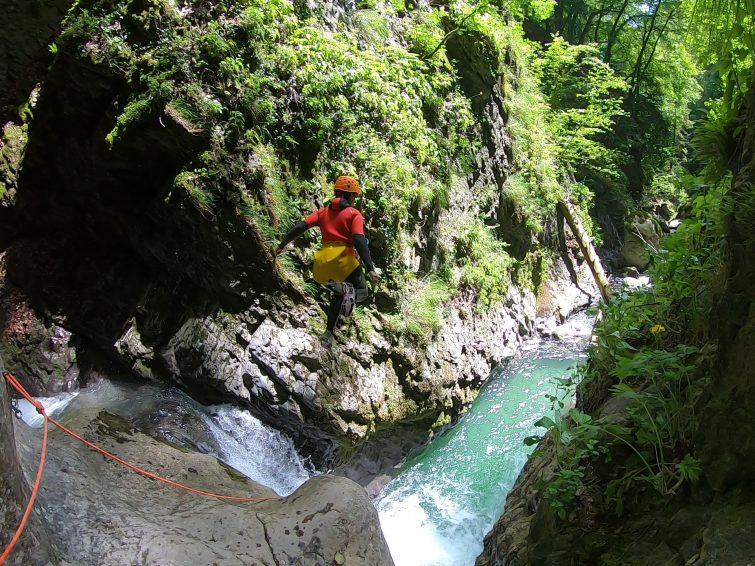 Canyoning à Montmin