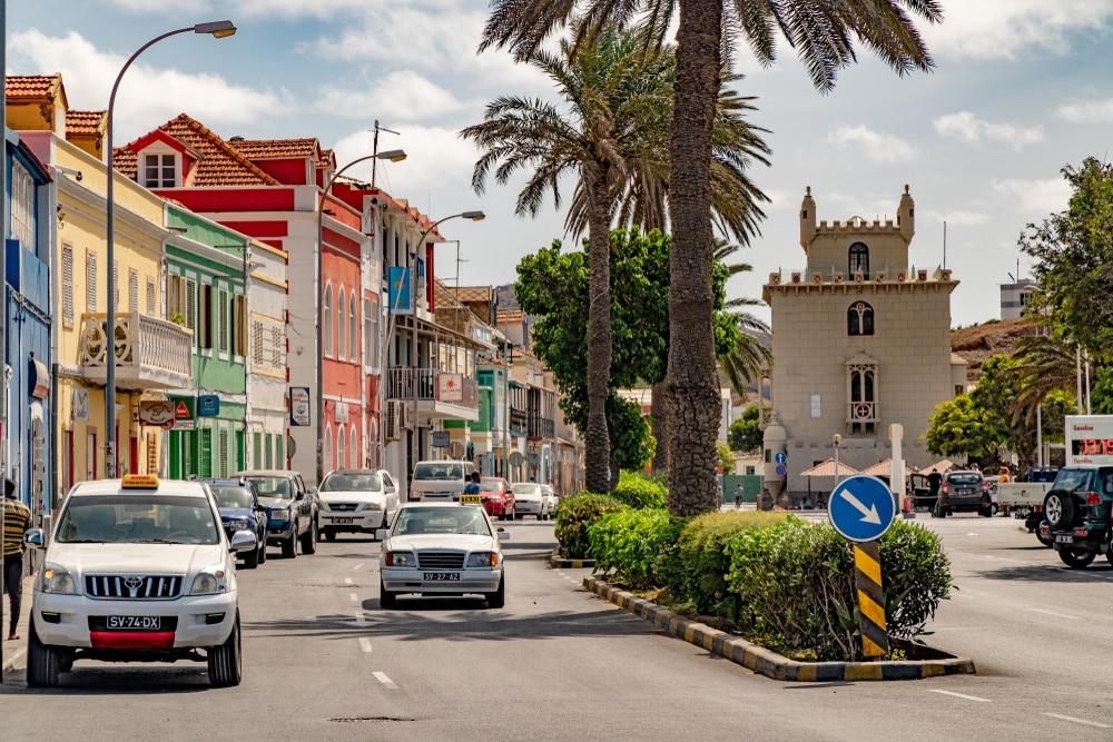 cap vert taxi transfert entre l'aéroport du Cap-Vert et le reste de l'île