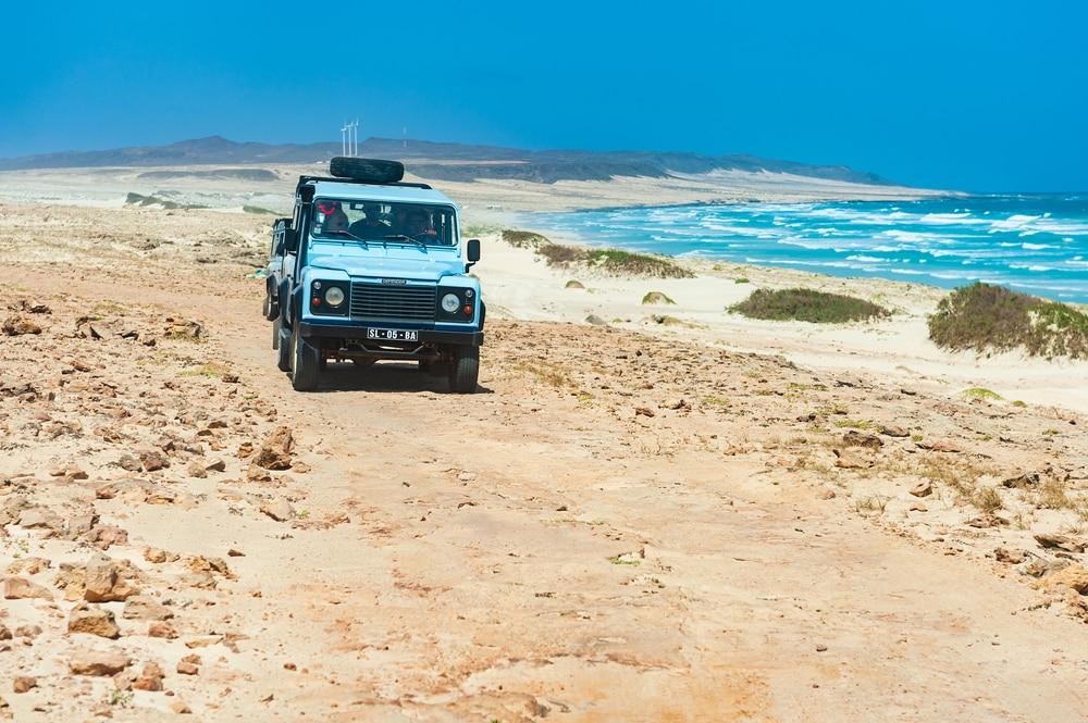cap vert voiture transfert transfert entre l'aéroport du Cap-Vert et le reste de l'île
