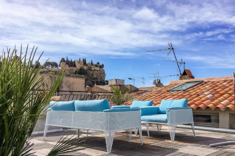 Splendide toit-terrasse dans Cassis