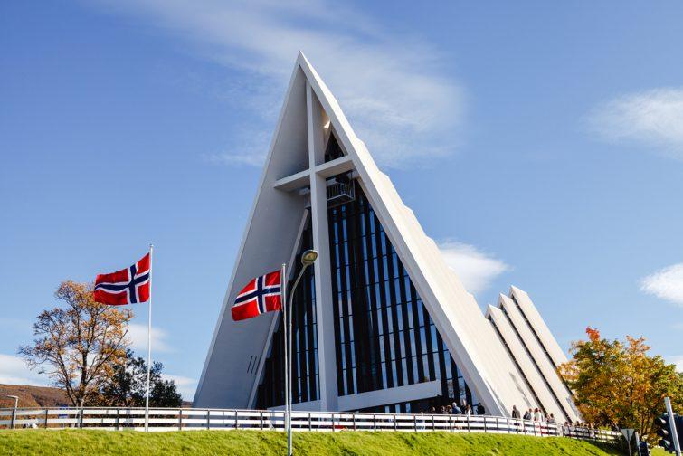 cathédrales arctique tromso
