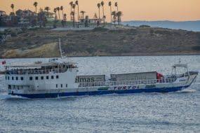 Comment aller à Çeşme depuis Chios en ferry ?