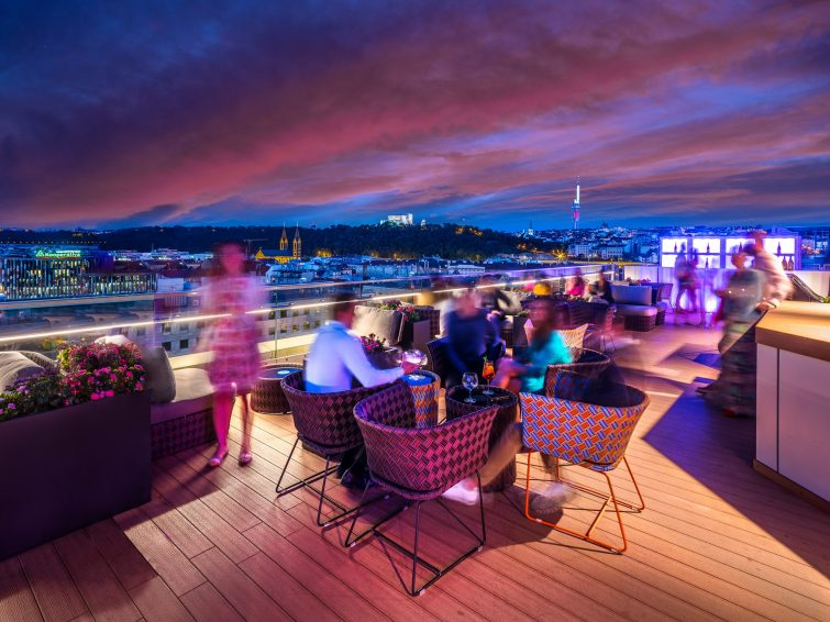 Cloud 9, SKy Bar, Prague