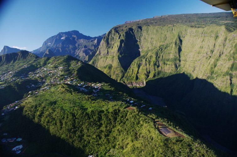 Dos d'âne, la Réunion