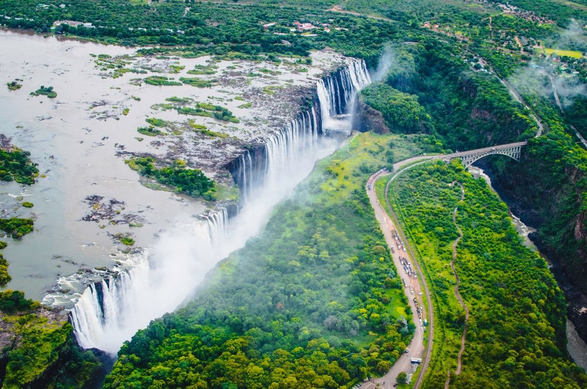 Visiter les Chutes de Victoria en Zambie