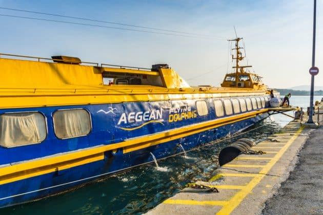 Comment aller à Agistri depuis Athènes en ferry ?