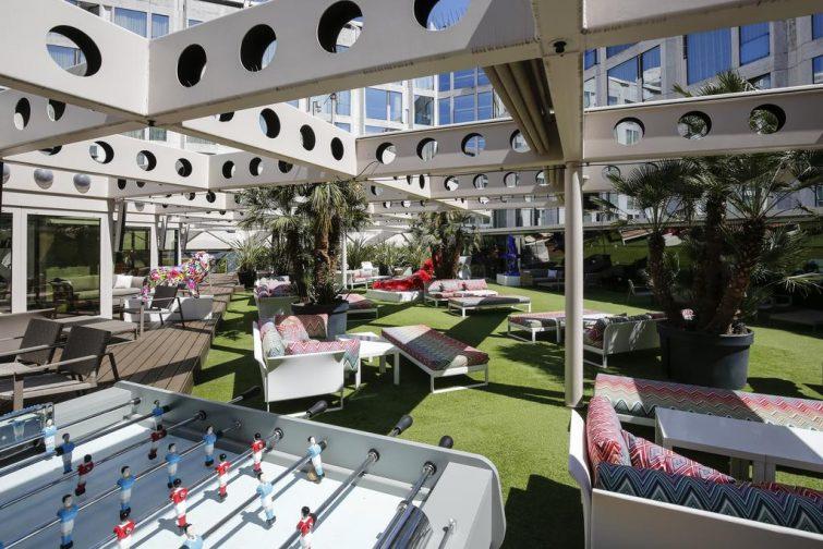 Le Floortwo, l'un des meilleurs rooftops de Genève