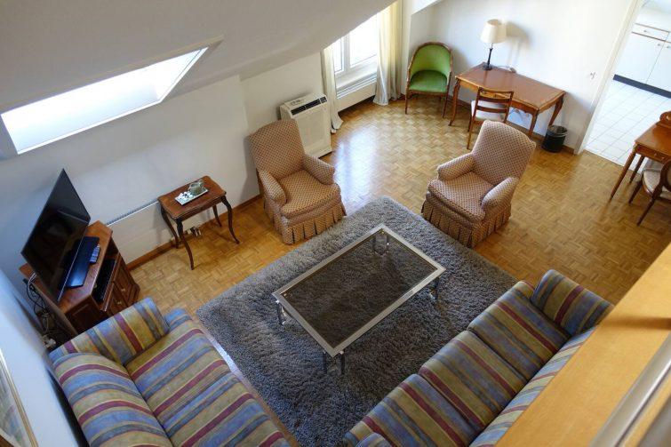 Bel appartement avec mezzanine