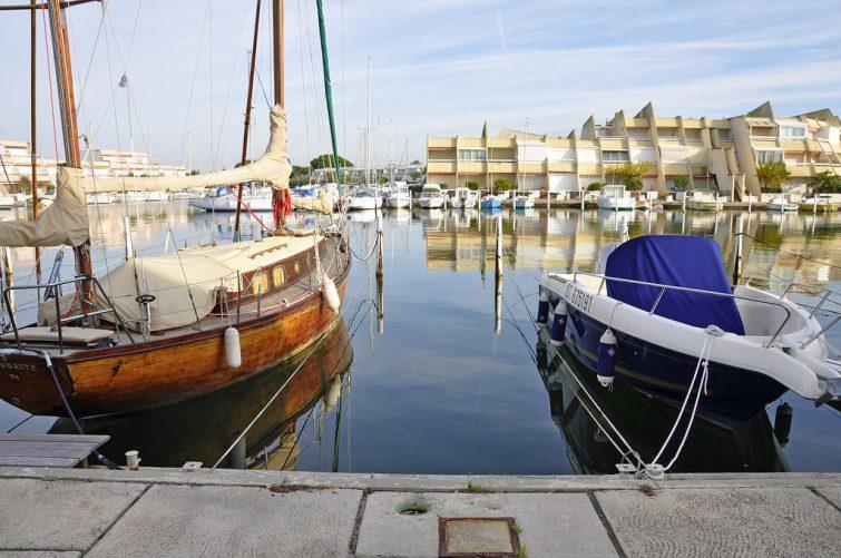 Loger au Grau du Roi : Port Camargue