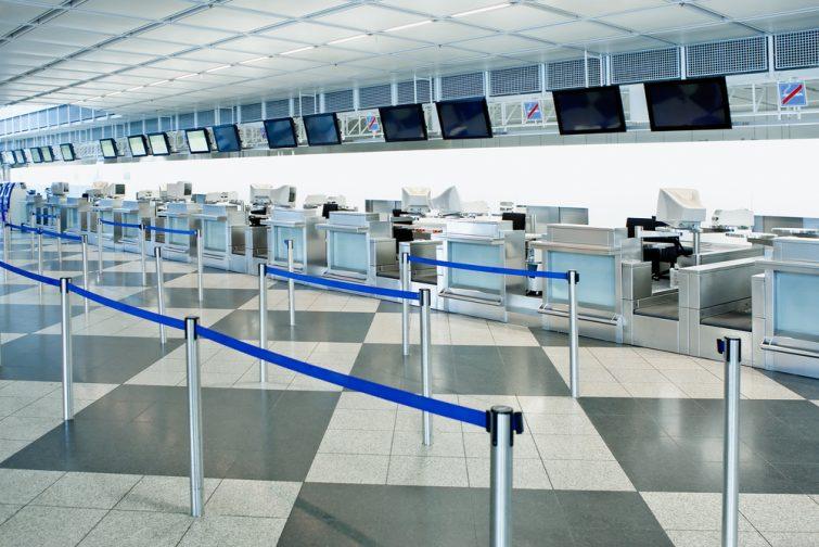 Aéroport en grève