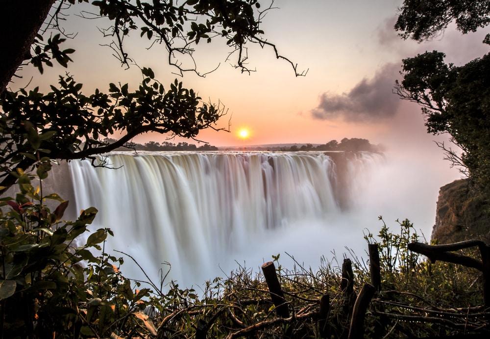 Les chutes Victoria, Zambie