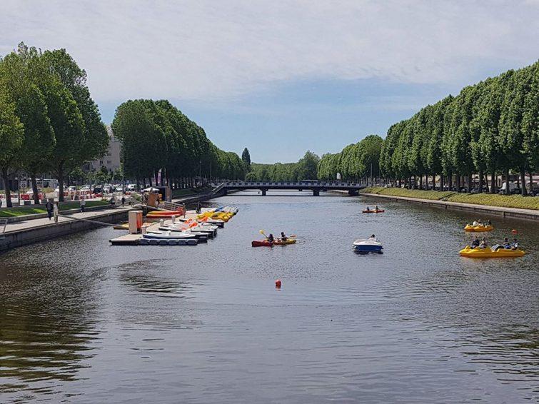 Canoë-kayak en Normandie : les pieds dans l'Orne