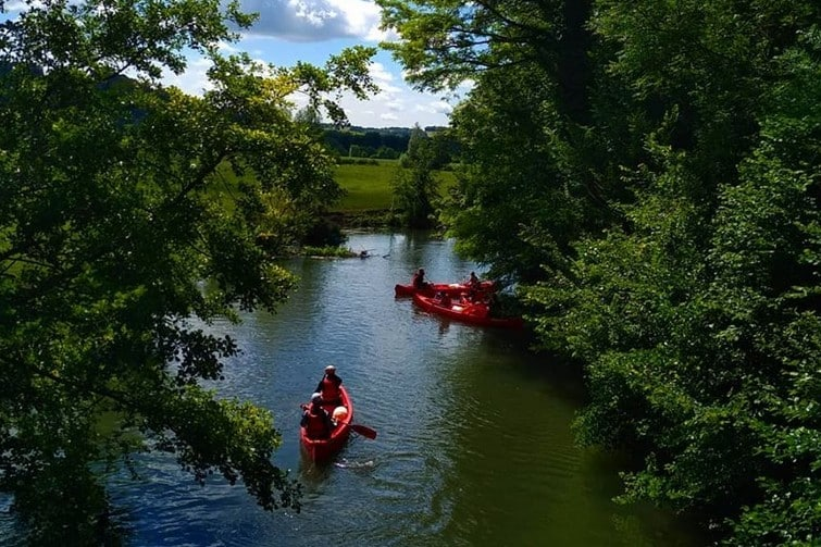Faire du kayak sur l'Epte