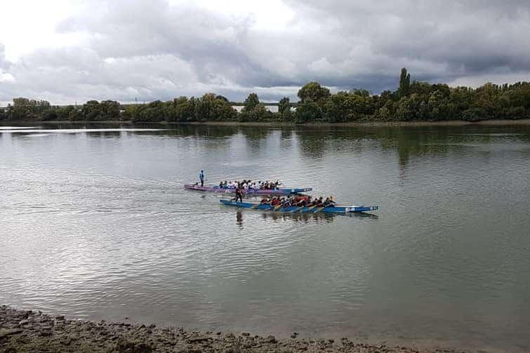 Faire du kayak en Normandie, sur la Seine