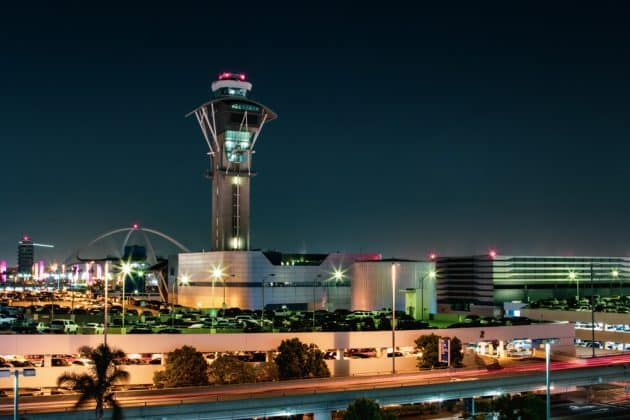Transfert entre l'aéroport de Los Angeles et le centre