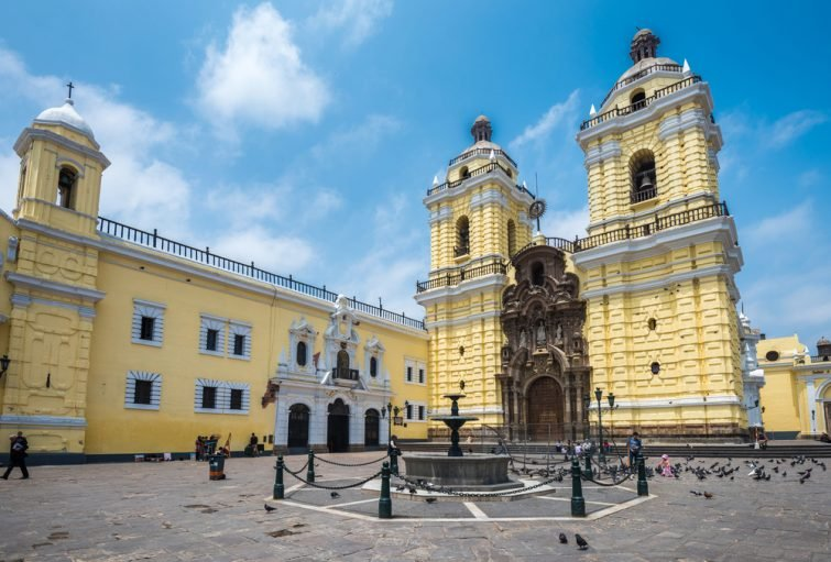 La Basilique San Francisco de Asís de Lima