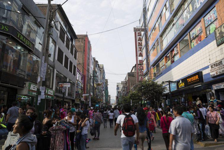 Gamarra, le passage commerçant à faire à Lima
