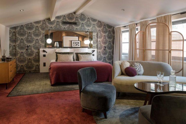 Hôtels romantiques à Lyon : la Tour Rose
