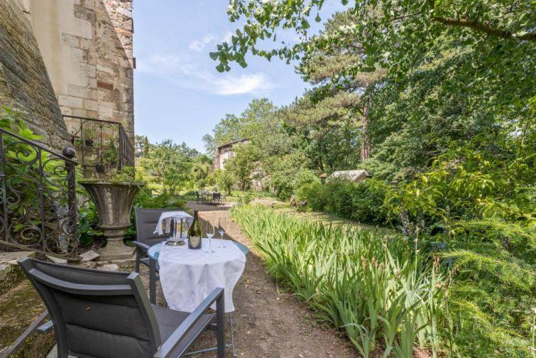 Hôtels romantiques à Lyon : Les Suites de l'île Barbe