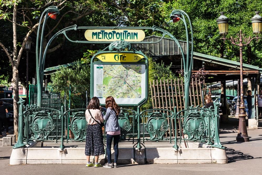 métro paris se déplacer