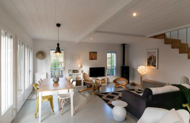 Airbnb, maison en bois, Cap Ferret