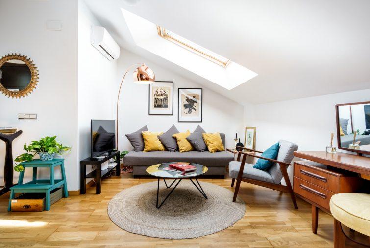 Appartement de charme sous les toits
