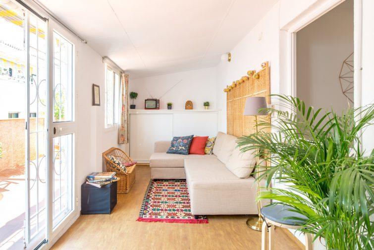 Appartement lumineux au dernier étage