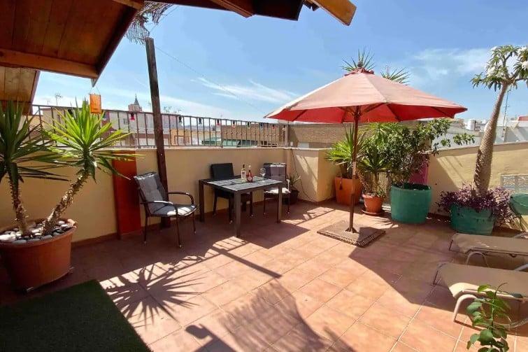 Penthouse avec terrasse privative
