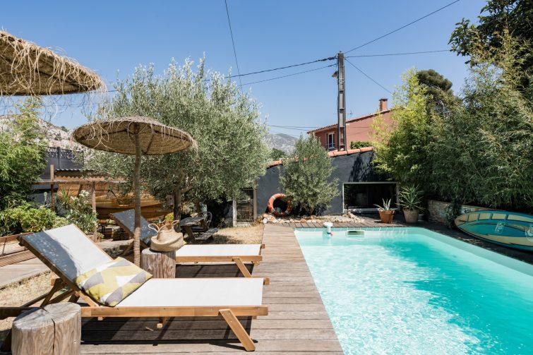 Studio ouvert sur la nature à Marseille
