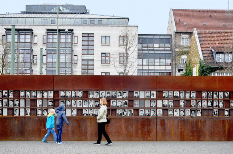 Mémorial, mur de Berlin