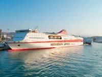 minoan lines grèce depuis italie en ferry