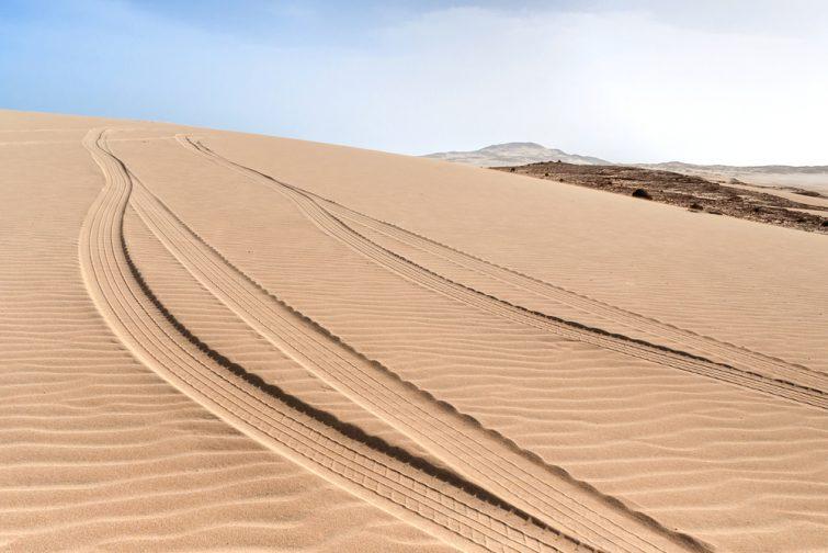 Randonnée au Cap-Vert, dunes de Morro de Areia
