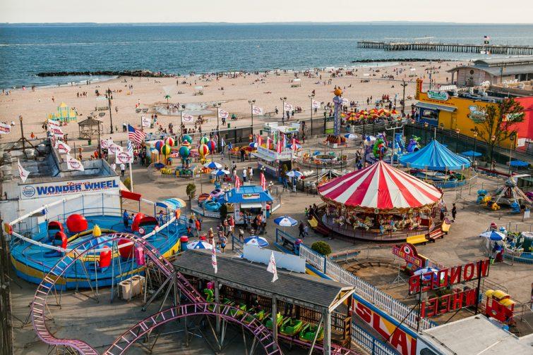 Le Luna Park de Coney Island