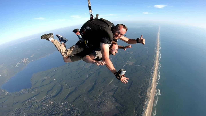 parachute autour bdx