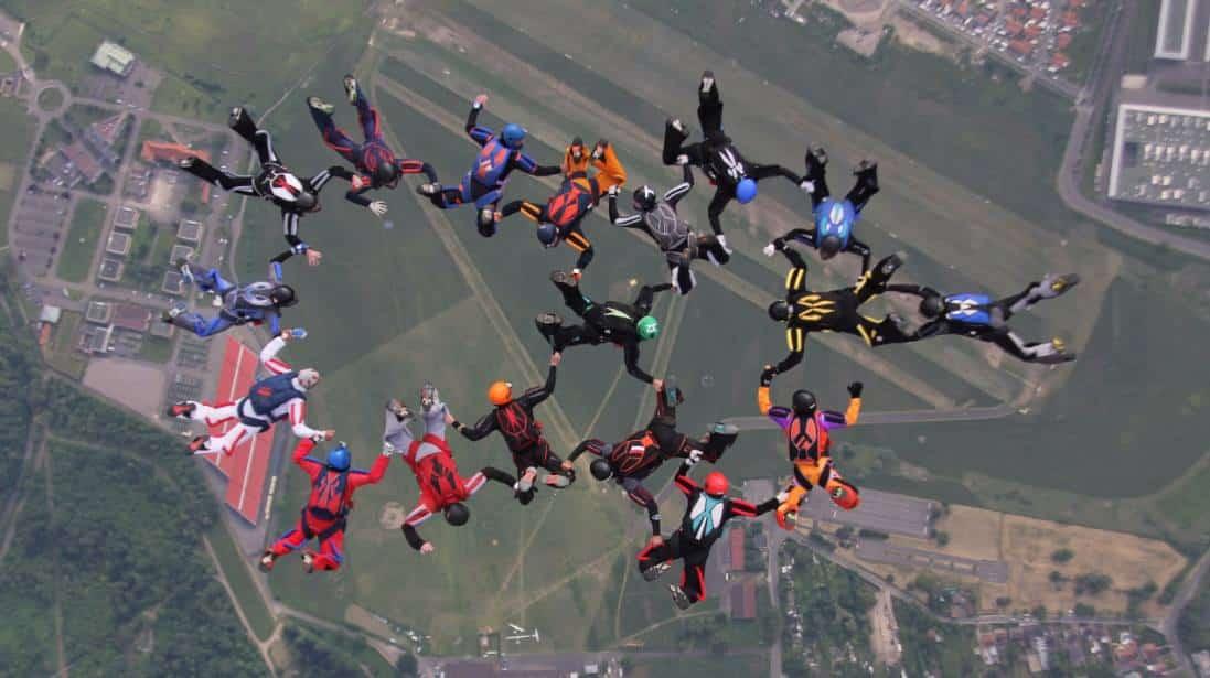 parachute groupe