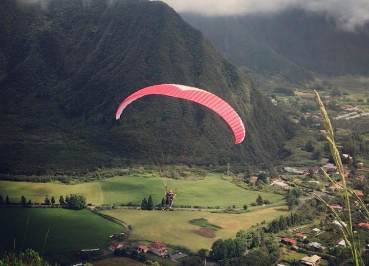 Parapente à Gros Piton Rond, La Réunion