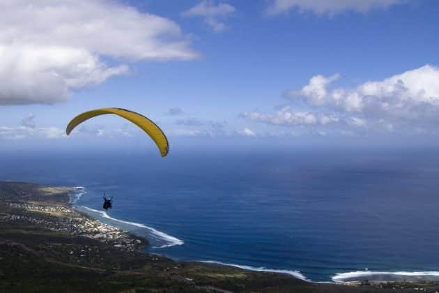 Spots de parapente à la Réunion