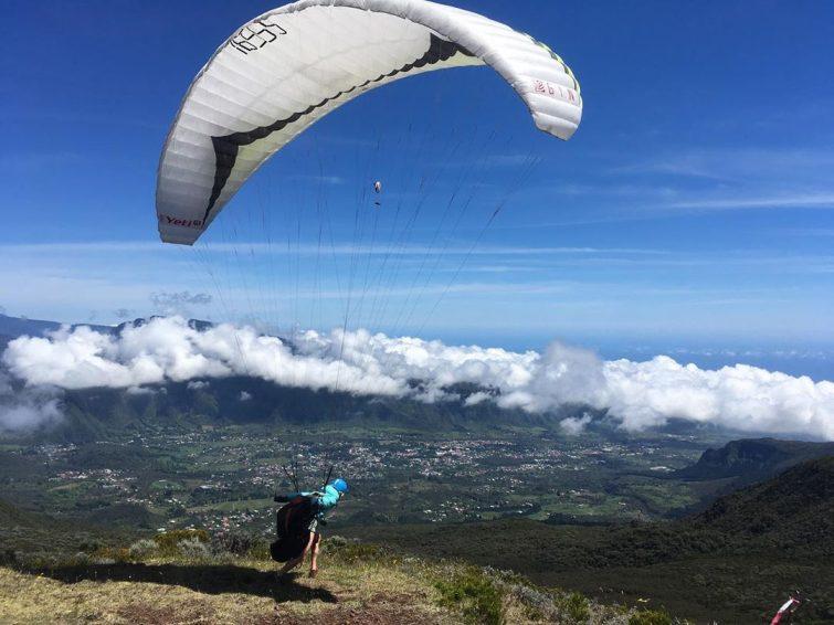 Parapente à Piton Textor, la Réunion