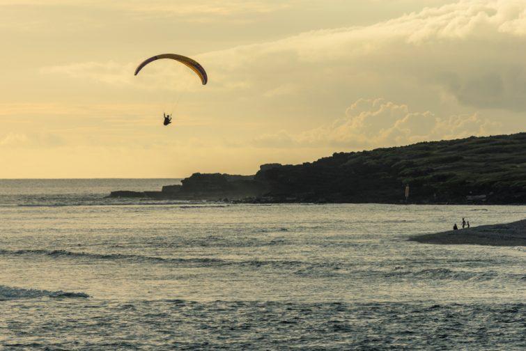 Parapente à la Réunion : Saint-Leu