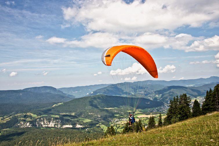 Faire du Parapente dans le Vercors, Alpes