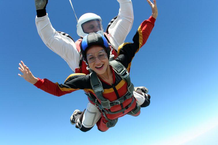 photo de parachutisme