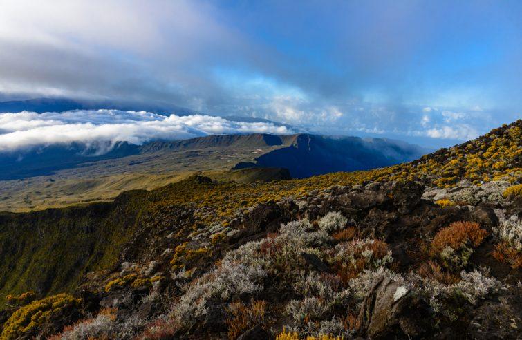 Le Piton des Neiges tôt le matin, la Réunion